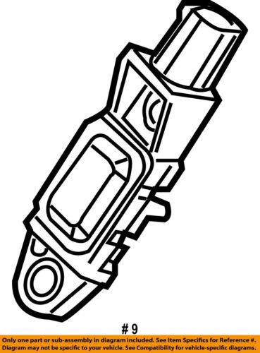 Chrysler Oem Air Bag Restraint System Front Impact Sensor 5170520ab