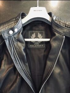 ed0254acee7 Brand New Belstaff Lambskin Leather Jacket (Large - 52)