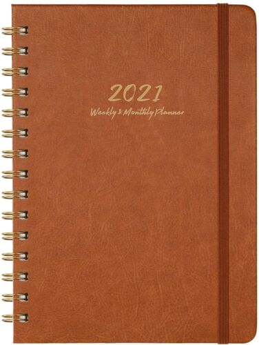 Agenda 2021 Planner Organizer Daily Weekly Monthly Schedule Appointment Book NEW