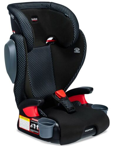 Britax Highpoint 2 Stage Belt-Positioning Backless Booster Car Seat CF Gray NEW