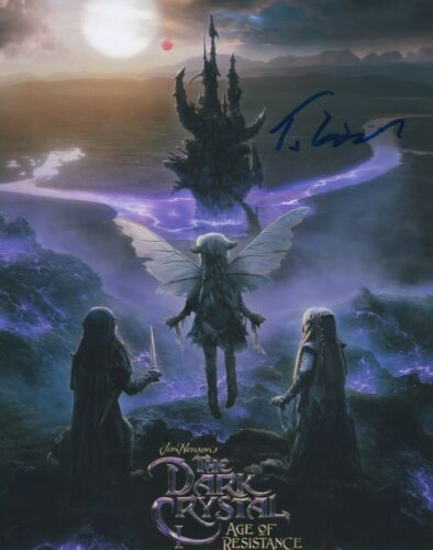 Taron Egerton Dark Crystal Autographed Signed 8x10 Photo COA 2019-1