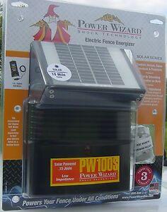 Solar Electric Fence Ebay