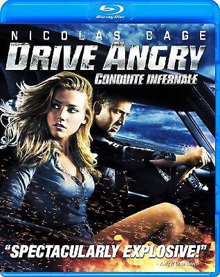 Drive Angry  Nicolas Cage   New Blu Ray