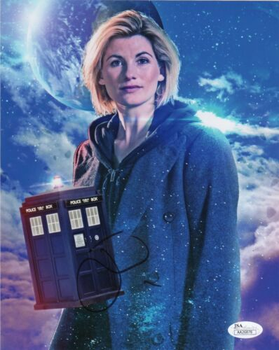 Jodie Whittaker Doctor Who Autographed Signed 8x10 Photo JSA COA #A26