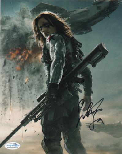 Sebastian Stan Winter Soldier  Autographed Signed 8x10 Photo ACOA  #M9