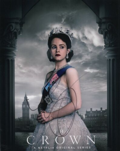 Claire Foy The Crown Autographed Signed 8x10 Photo COA #O23