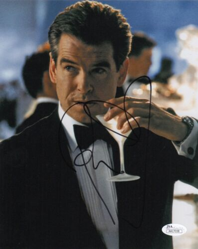 Pierce Brosnan Die Another Day Autographed Signed 8x10 Photo JSA COA EE13