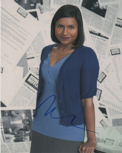 Mindy Kaling The Office Autographed Signed 8x10 Photo COA EF743