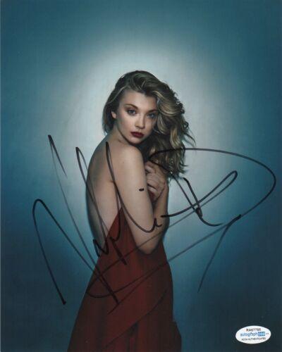 Natalie Dormer Sexy Autographed Signed 8x10 Photo COA #13