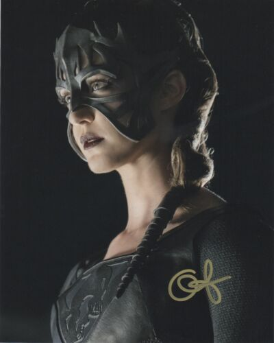 Odette Annable Supergirl Autographed Signed 8x10 Photo COA BA82