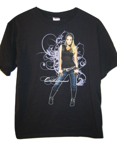Carrie Underwood Carnival Ride Concert Tour 2008 Black Sexy T Shirt men M Medium