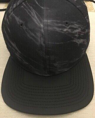 Nike Pro S 2 Hat Adjustable Strapback Hat Marbled Black Gray Gold NEW