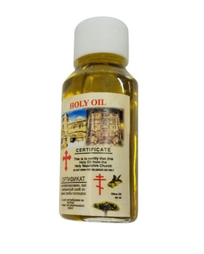 60ml Certified Biblical Church of The Holy Sepulchre Blessed Anointing Oil