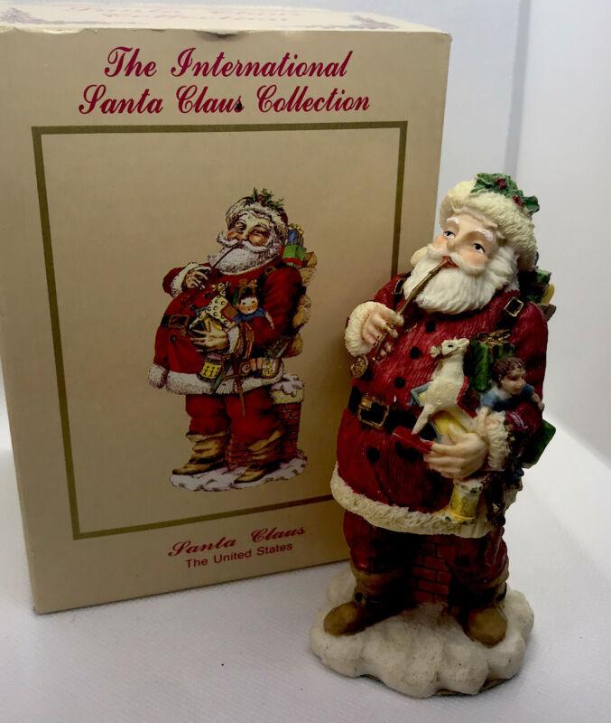 The International Santa Claus Collection Figurine United States Vintage 1992
