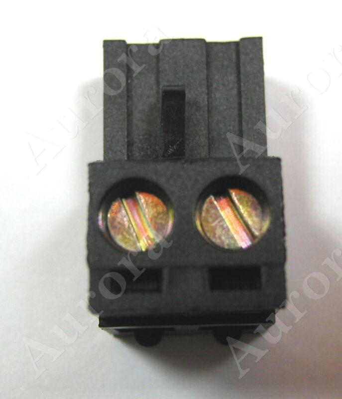 2 Pin - 5.08mm Black /  Phoenix Plug - Pluggable Connector - Terminal Block