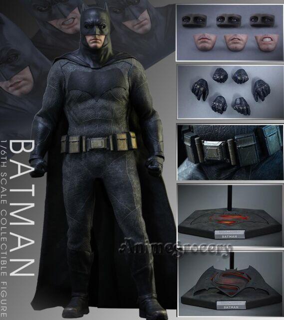 1/6 Hot Toys MMS342 Batman v Superman Dawn of Justice Batman Set Loose Figure