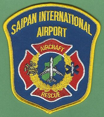 SAIPAN INTERNATIONAL AIRPORT FIRE DEPARTMENT ARFF PATCH