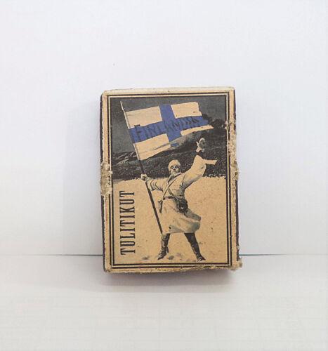 GREAT OLD FINLAND PROPOGANDA MATCHBOX!!!
