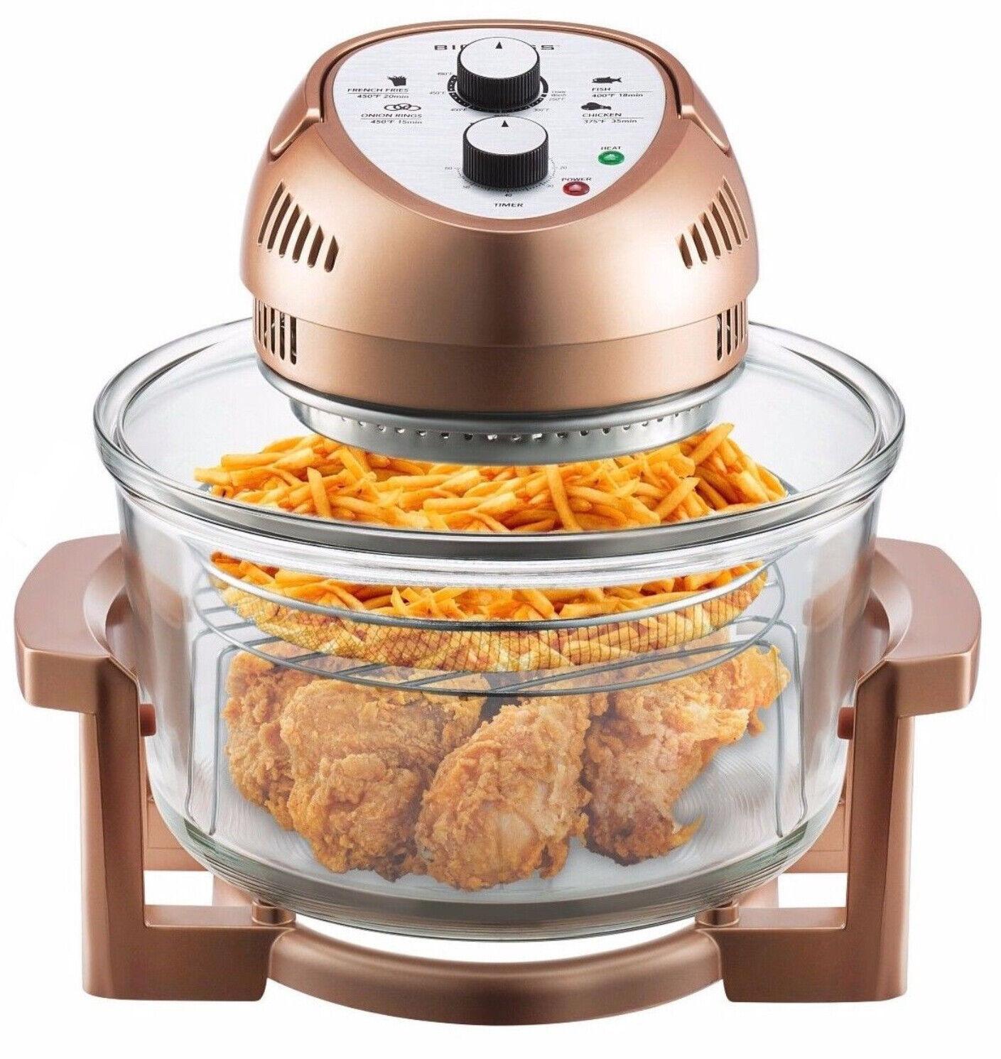 Big Boss Oil-less Air Fryer, 16 Quart, 1300 watt, Limited Ed