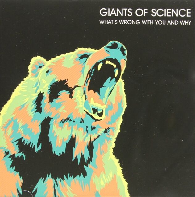Ginats of Science - What's Wrong With You and Why (2014)  CD  NEW  SPEEDYPOST