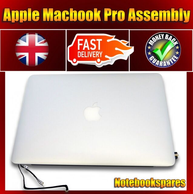 "Apple Macbook Pro A1502 Retina 13"" Screen LCD Full Top Assembly Early 2015"