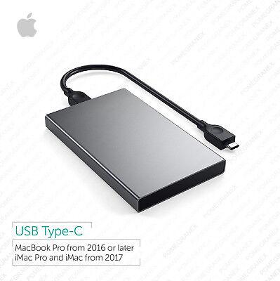 Macbook Pro, iMac, 1TB Portable External HDD :: USB-C :: Bootable, Plug and Play - Pro 1 Tb Usb