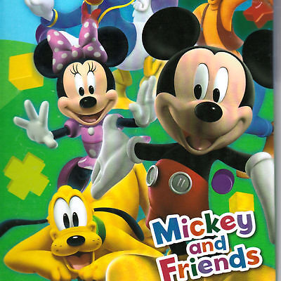 (Mickey Mouse And Friends Journal Diary Pluto Goofy Minnie Donald Daisy Travel)