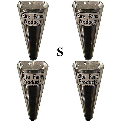 4 Pack-small- Restraining Killing Kill Processing Cones For Poultry Chicken Fowl