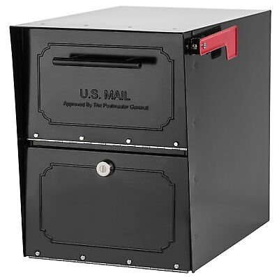 Locking Mailbox Mail Boxes Residential USPS Approved For Outside Post Mounted ()