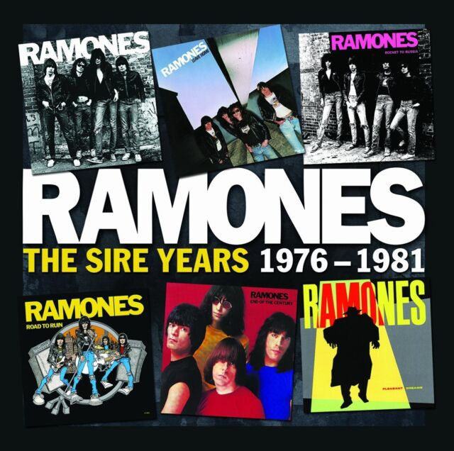 RAMONES THE SIRE YEARS 1976-1981: 6CD BOX SET (October 28th 2013)