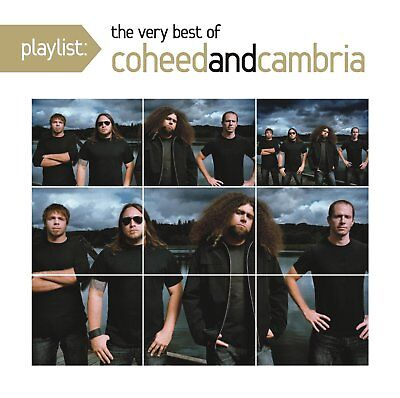 Coheed and Cambria - Playlist: The Very Best of (2011)  CD  NEW