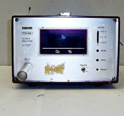 Mocon Oxygen Analyzer Model Lc700f 16222Els
