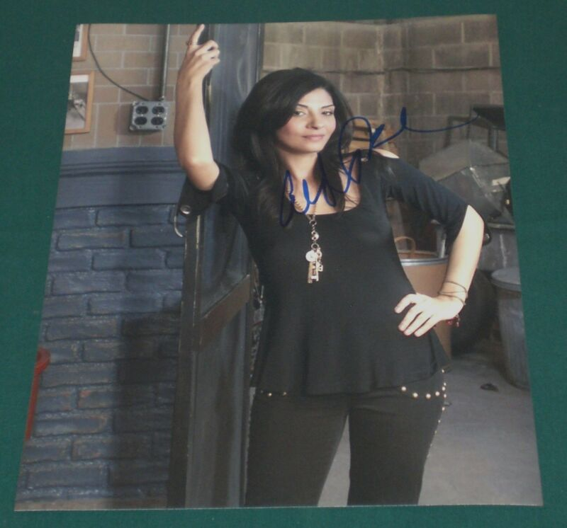 CALLIE THORNE SIGNED SEE THRU HOT BABE PHOTO AUTOGRAPH COA NECESSARY ROUGHNESS