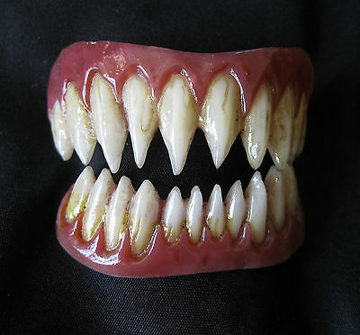 Pennywise Teeth (Professional Costume Teeth Pennywise Appliance Dental Distortions 2.0 FX)