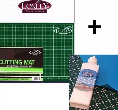 Eins Sticky Matte Sebstklebend Schneidematte Klebstoff und ein A4 Selbstheilung (Stoff Schneidematte)