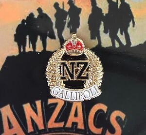 New Zealand  Gallpoli Expedtionary Force Commertive Badge 1915-2015 *ANZAC Day