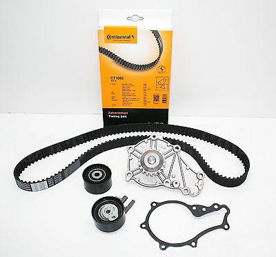 CONTI Zahnriemen + Spannrolle + Umlenkrolle Wasserpumpe Contitech CT1092 TOP NEU Focus Control Kit