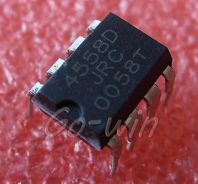 20PCS IC 4558D DIP8 op amp DIP8 new JRC4558D.