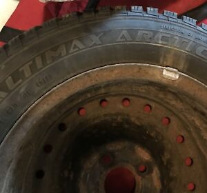 Tires 185/65 R15 with Honda Civic 4 bolts rim