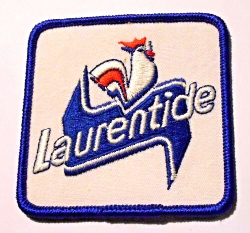 "Laurentide Beer Embroidered Patch 3""  inches Beer Ale Rooster"
