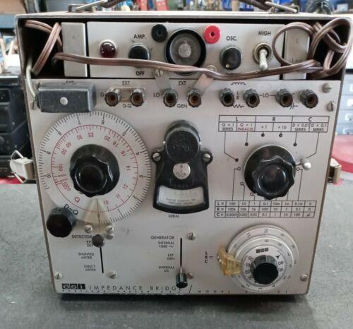 ESI Universal Impedance Bridge model 250 C1