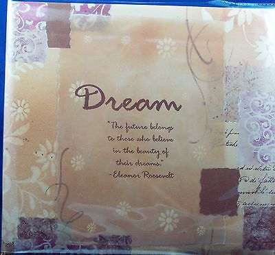 NEW MBI DREAM ALBUM FREE 20 12X12 PAGE PROTECTORS ACID FREE EXPANDABLE