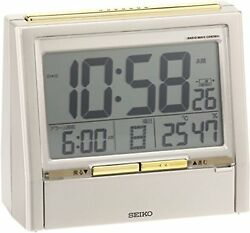 SEIKO DA206G CLOCK alarm clock digital talk liner F/S w/Tracking# New from Japan