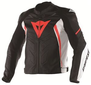 Dainese AVRO D1 Leather Motorcycle Jacket - Like New