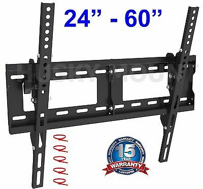Tilting LCD LED ultra HD TV Wall Mount Bracket 32 37 39 40 42 46 50 55 60 Inch