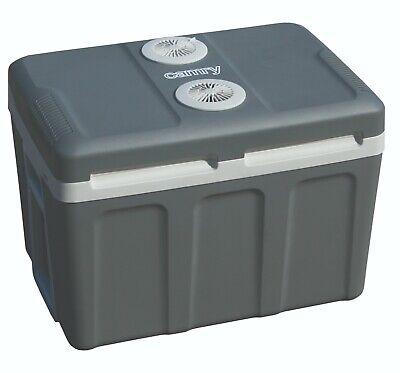Nevera portátil eléctrica de viaje para coche camping Capacidad 45 L Con...