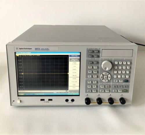 Keysight Agilent E5071C 9kHz-8.5GHz 4-port ENA Network Analyzer with Warranty