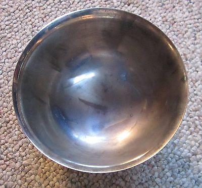 "International Silver Co. Silver Plate 5"" bowl .75"" pedestal Base Webster Wilcox!"
