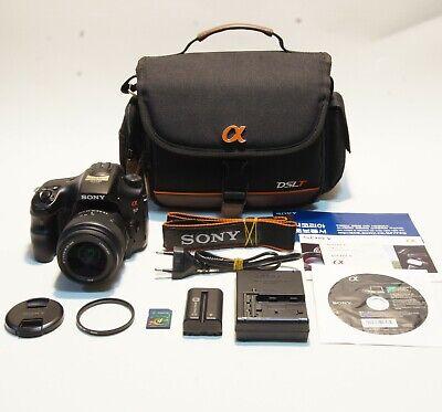 [No scratch!!]Sony Alpha SLT-A57 16.1MP DSLR Camera w/ DT SAM 18-55mm Lens Kit