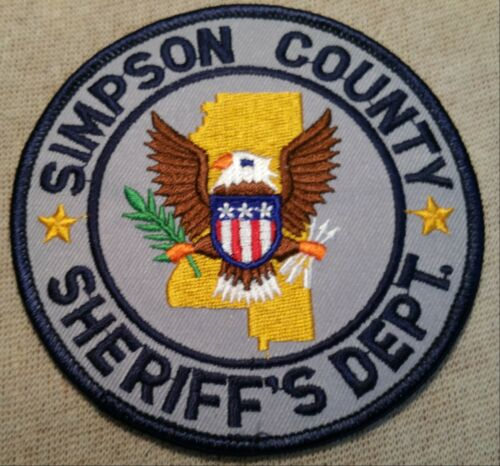 MS Simpson County Mississippi Sheriff Patch